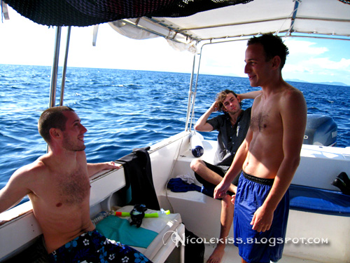 my first dive buddies on sipadan