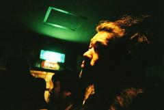 waiting for acid mothers (troutfactory) Tags: film japan concert lomo lca lomography waiting kodak bears rangefinder   osaka 400uc analogue kansai  ultracolor nambabears