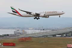 Emirates Airline's A340-500 @RJBB