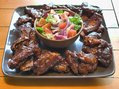 Sticky ribs (Xception2TheRule) Tags: food bbq pork barbecue ribs