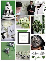 2531199640 3e49cfc95e m 141 ideias de casamento verde e branco