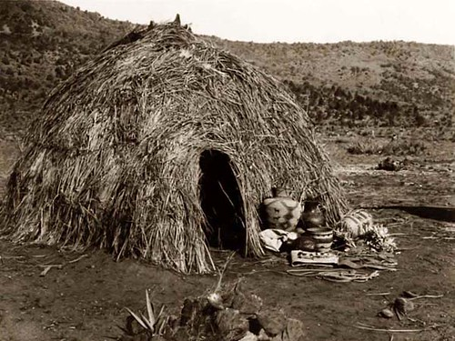 Apache Grass Hut
