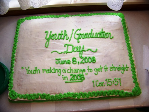 Cake to celebrate our youth