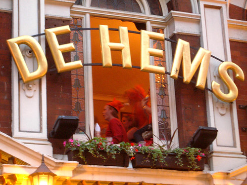 Dutch football fans at De Hems, London