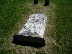 fallen stone