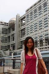 Day 14, Tokyo, Odaiba (kcfoo24) Tags: japan tokyo odaiba fujitv eos40d