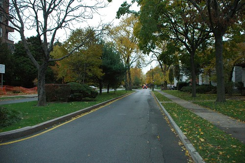 Albemarle Road, looking east from Rugby Road, Prospect Park South