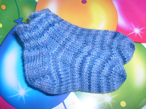 blue baby socks-Jelly Bean