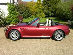 BMW Z3 3.0i Calypso Red 2002 (TheCarSpy) Tags: cars automotive bmw roadster thecarspynet bmwz330calypsored