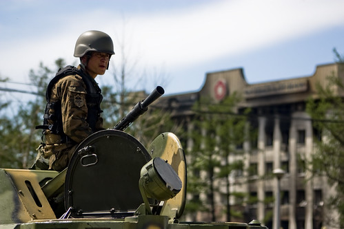 Streets calm in riot-hit Mongolia