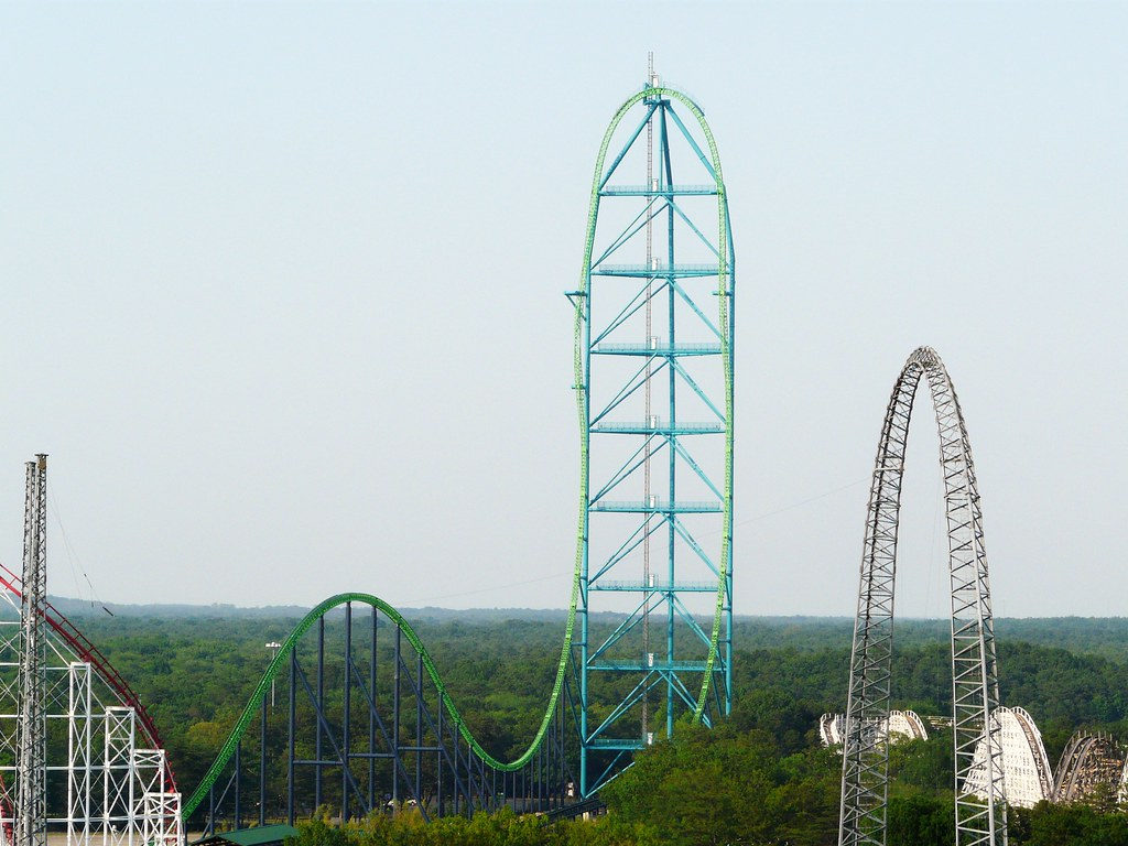 The tallest and fastest coaster in the world: Kinda Ka