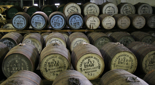 scotch whisky barrels in scotland