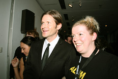 Crispin Glover and Nicky Gogan