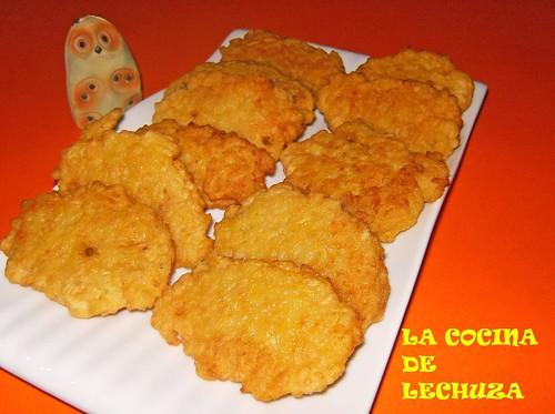 Fritos de arroz-fuente