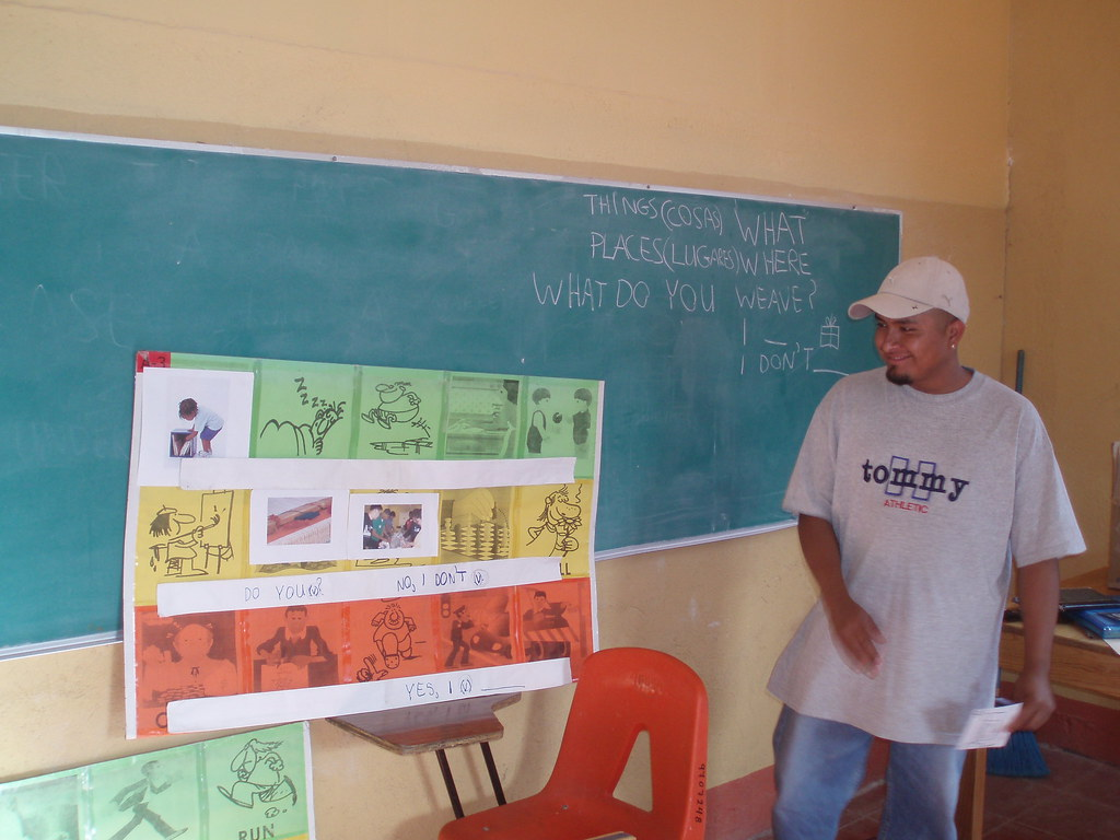 Teotitlan English class 3