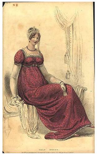 Evening dress, 1809