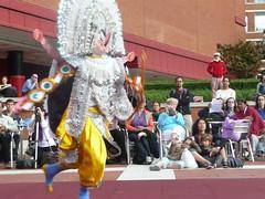 Chhau at the British Library 18 (George's Girl) Tags: fun dance library culture british ramayana chhau