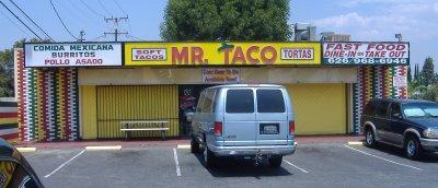 Mr. Taco - Exterior