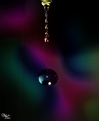 Colorful (ZiZLoSs) Tags: water canon drop powershot abdulaziz  g9 zizloss  almanie httpzizlosscom