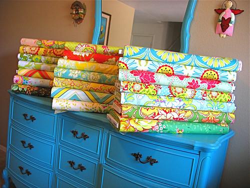 Pop Garden Fabric by Heather Bailey