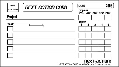 action lists template