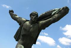 Rekviem egy zszlrt / Requiem for a flag (KBi) Tags: motion flag requiem liberation