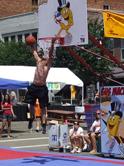 Gus Macker - Nelsonville, OH - 2008 (Day Two) (rbatina) Tags: rubbertoe man boy boys men guy shirtless topless chest back shoulders neck muscles muscle muscular athletic guys dude dudes shorts gus macker basketball tournament tourney bball gusmacker nelsonville ohio ball game contest competition player players street 3on3 half court halfcourt athlete sport sports cute pretty girls women background crowd group people event boobs breasts tits titties boobies cleavage revealing bare skin body hot sexy babe young girl woman chick lady little big amateur
