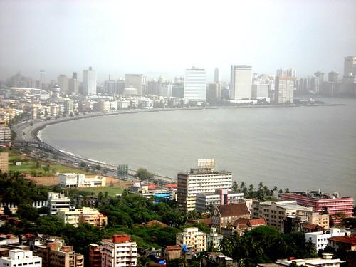 mumbai marine drive nackles view, Mumbai, India