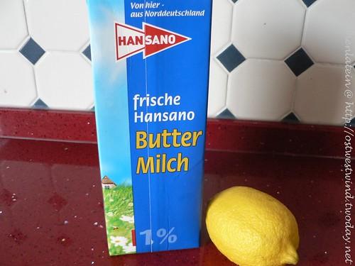Zitronenbuttermilch