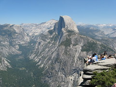 On top of the Glacier Point, Half Dome Photo