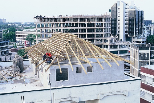 Dar es Salaam construction