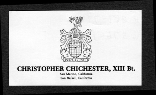 Chichester Business Card