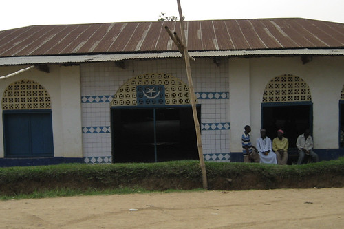 A view of the mosque in Kindu
