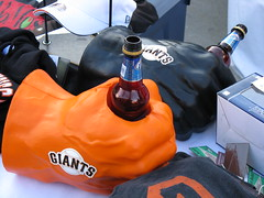 Giants lager mitts