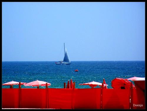 Un barco de Vela
