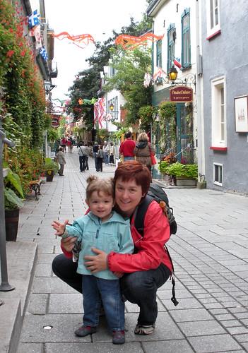 Myriam et Hélène à Québec