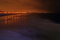 Nite Beach (ROSS HONG KONG) Tags: beach losangeles santamonica