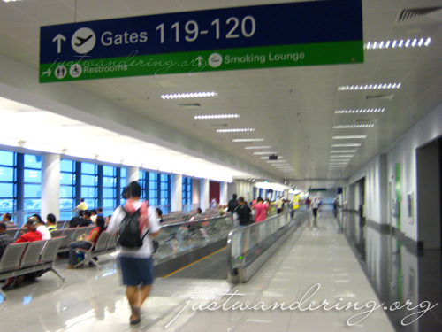 NAIA Terminal 3 Manila 07. Walkalators!