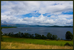 The Carrick - 15th Fairway, Loch Lomond (andy barratt) Tags: blue water clouds scotland boat loch balloch lochlomond luss thecarrick scottishgolf scottishopengolf