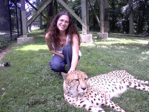 me and a spotted beauty..