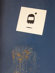 wordless poster (zen) Tags: usa poster graffiti sticker heart asheville northcarolina wordless zensutherland 20080725 googleavl