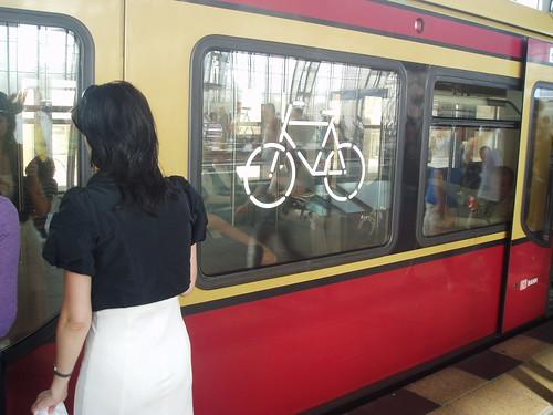 Permitida bici en el metro de Berlín