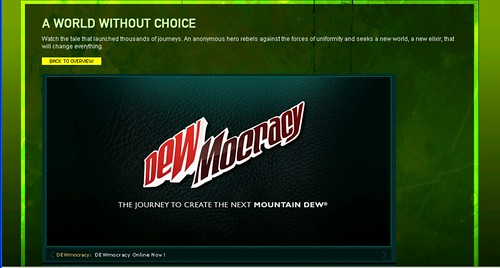 Cocreation ala Mountain Dew