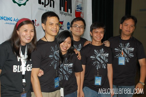 WordCamp Philippines 2008 Organizers with Aileen Apolo
