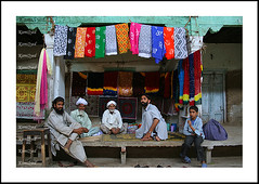 Chunari market (KamiSyed.) Tags: wedding pakistan man men kids women culture arab desi pakistani punjab cultural punjabi islamabad weddingphotographer rawalpindi urdu taxila weddingphotography woaman studio9 weddingphotographs weddingpix kamisyed kamransafdar chinak