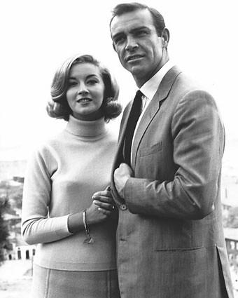 Daniela Bianchi and Sean Connery