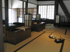 Restoration work Dejima /  ()() (TANAKA Juuyoh ()) Tags: old architecture work japanese design office ancient interior room traditional style tatami  restoration residence  nagasaki   dejima