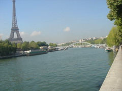 seine River (SaudiSoul) Tags: bridge paris france tower seine river  effil