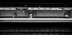 Barcelona Metro - Sagrada Famlia (jsprhrmsn.photography) Tags: barcelona blackandwhite white black blanco lines architecture underground design spain arquitectura europe metro zwartwit curves negro bcn shapes zwart wit bdf architectuur tmb blancyynegro jsprhrmsnphotography
