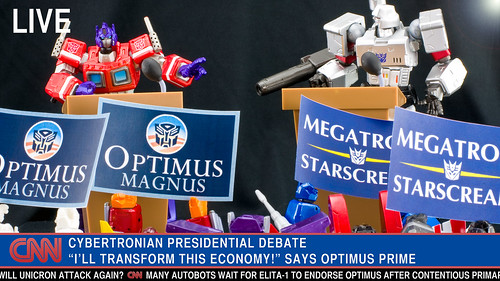 Cybertronian Presidential Debate (by JasonCross)
